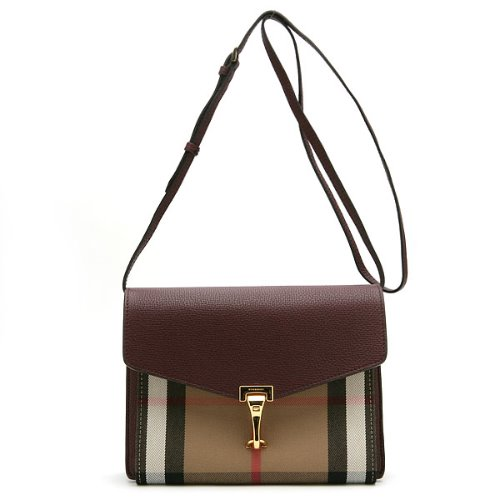 BURBERRY SM MACKEN HHL MAHOGANY RED 3980828 1