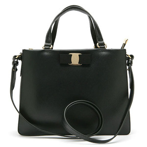 FERRAGAMO 21-E298 TRACY NERO