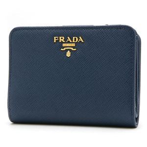 PRADA 1ML018 SAFFIANO METAL BLUETTE