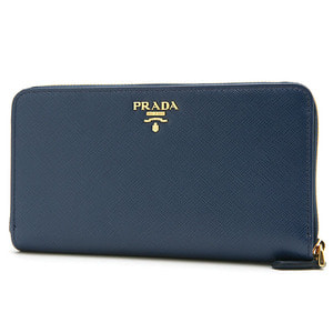 PRADA 1ML348 SAFFIANO METAL BLUETTE