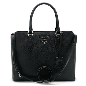 PRADA 1BA205 VITELLO PHENIX NERO