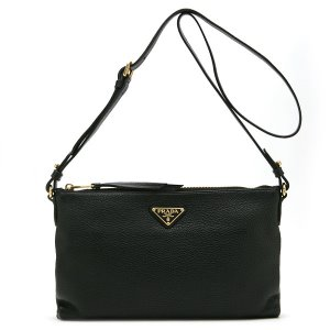PRADA 1BH050 VITELLO PHENIX NERO OOW