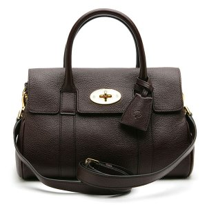 MULBERRY BAYSWATER SATCHEL CLASSIC GRAIN OXBLOOD HH5629/033K195