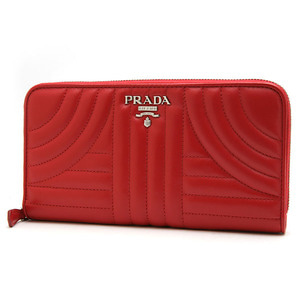 PRADA 1ML506 SOFT CALF IMPUN ROSSO